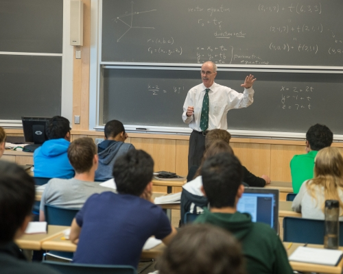 Phil Hanlon Teaching: Philip J. Hanlon, Class of 1977, President of the College