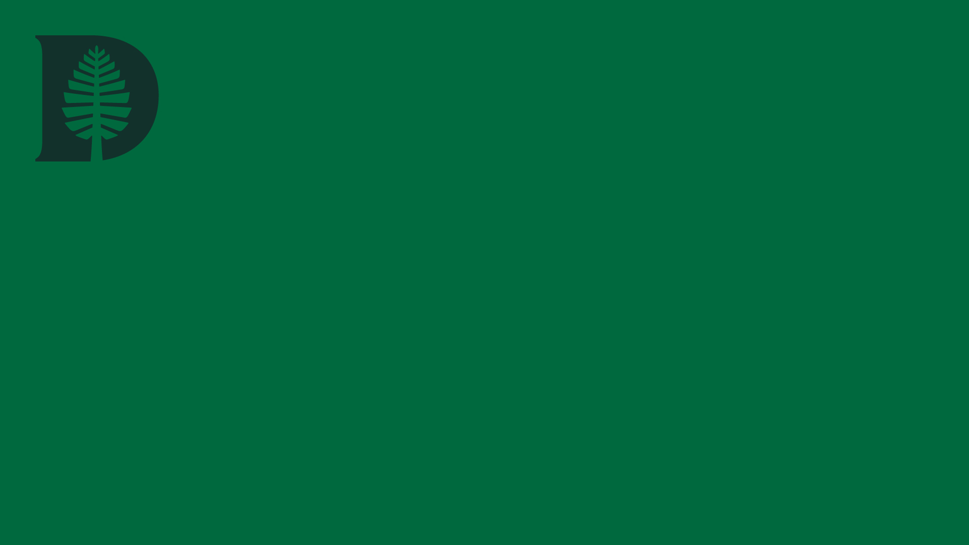 Forest Green D-Pine Zoom Background